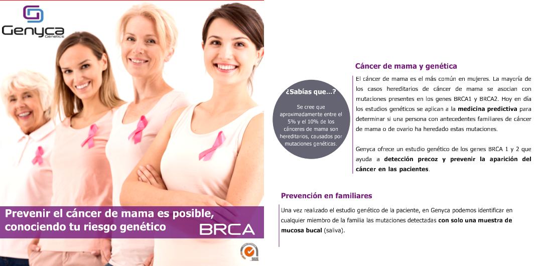 CÁNCER DE MAMA HEREDITARIO UMEBIR. Unidad de Medicina Bioregenerativa