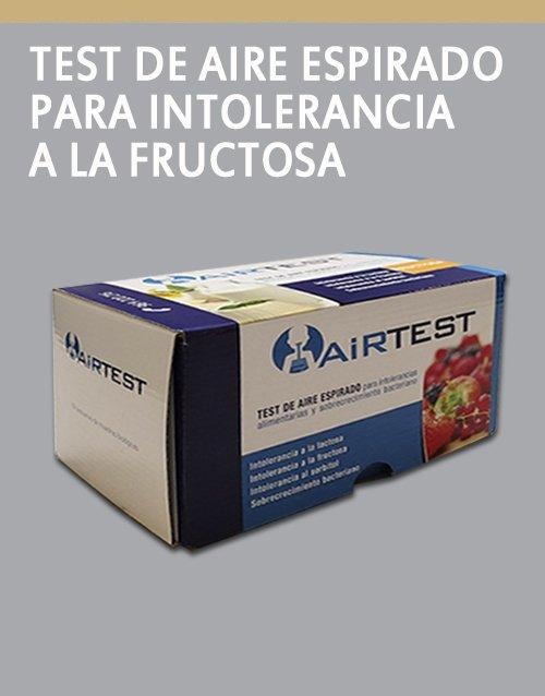 UMEBIR. Unidad de Medicina Bioregenerativa AirTest Para intolerancia a la fructosa
