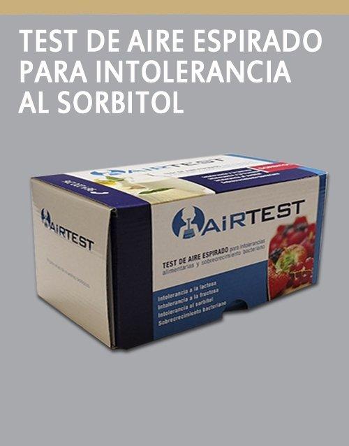 AirTest Para intolerancia al sorbitol UMEBIR. Unidad de Medicina Bioregenerativa